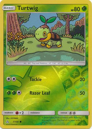 Turtwig - 7/156 - Common Reverse Holo