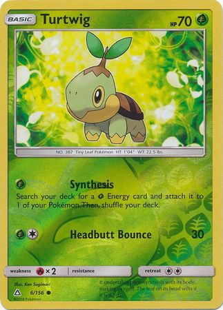 Turtwig - 6/156 - Common Reverse Holo