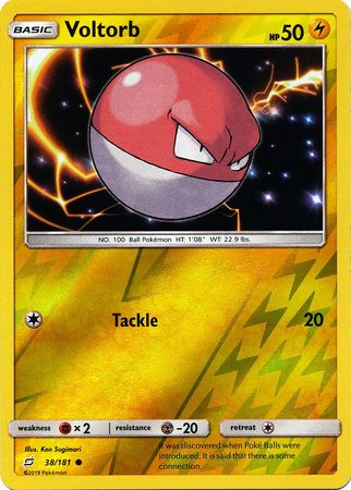 Voltorb - 38/181 - Common Reverse Holo