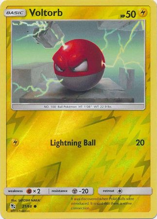 Voltorb - 21/68 - Common Reverse Holo