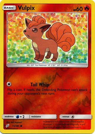 Vulpix - 15/181 - Common Reverse Holo