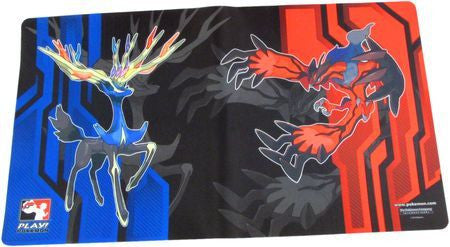 Pokemon Play Xerneas Yveltal Playmat - Used, Great condition