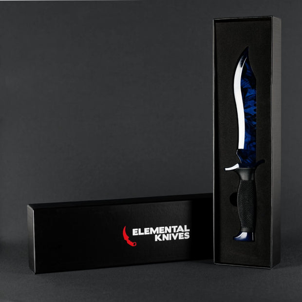 Black Pearl Bowie Knife-Real Video Game Knife Skins-Elemental Knives