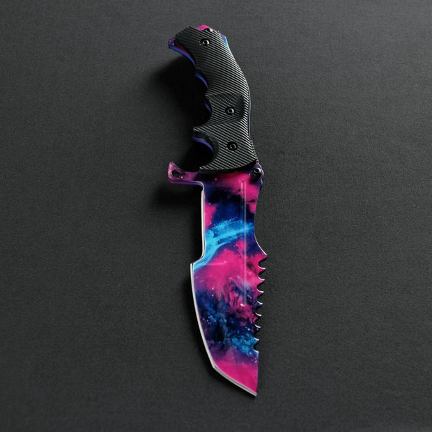 Galaxy Huntsman Knife-Real Video Game Knife Skins-Elemental Knives
