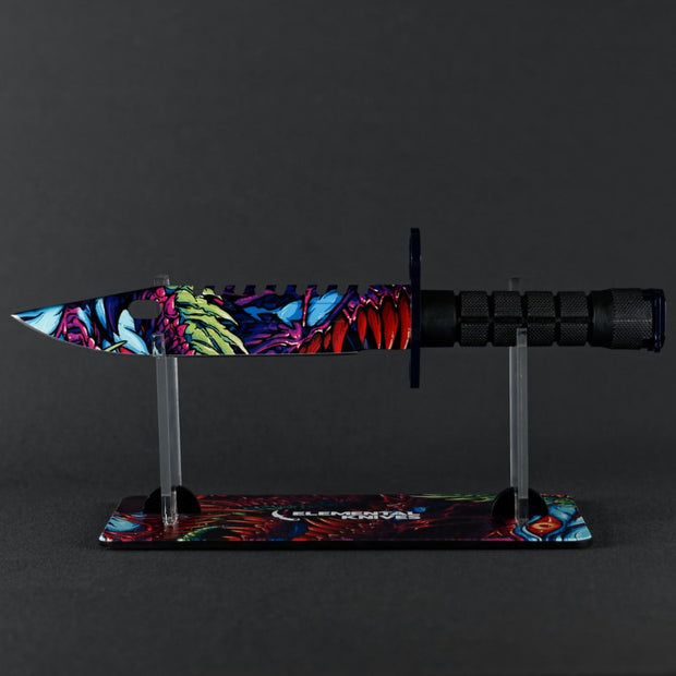 Randomized Hyper Beast© M9 Bayonet-Real Video Game Knife Skins-Elemental Knives