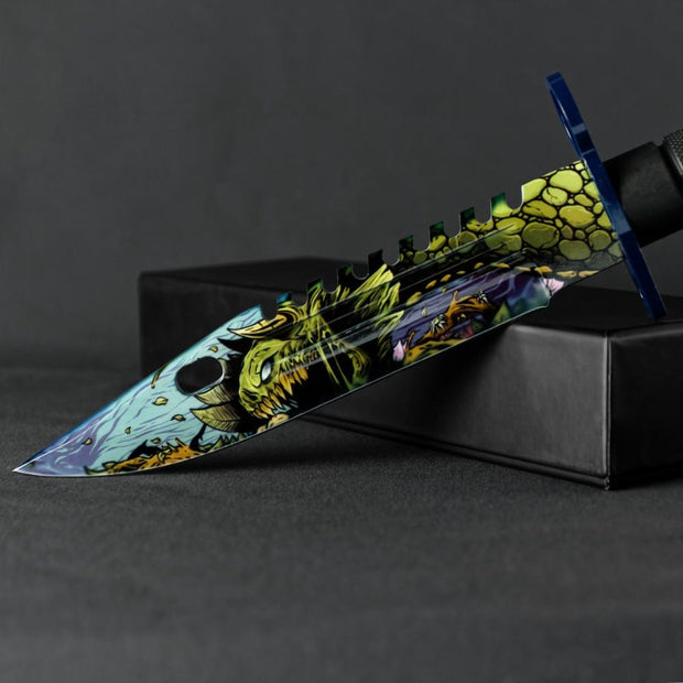 Hyper Fury M9 Bayonet-Real Video Game Knife Skins-Elemental Knives