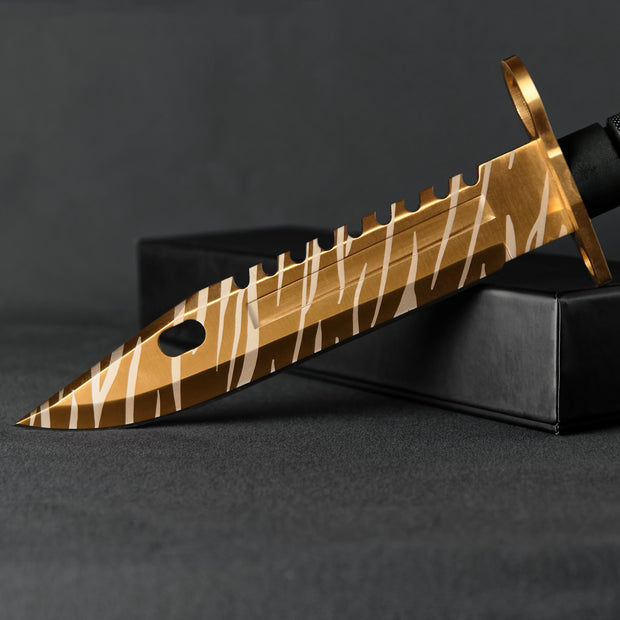 Tiger Tooth M9 Bayonet