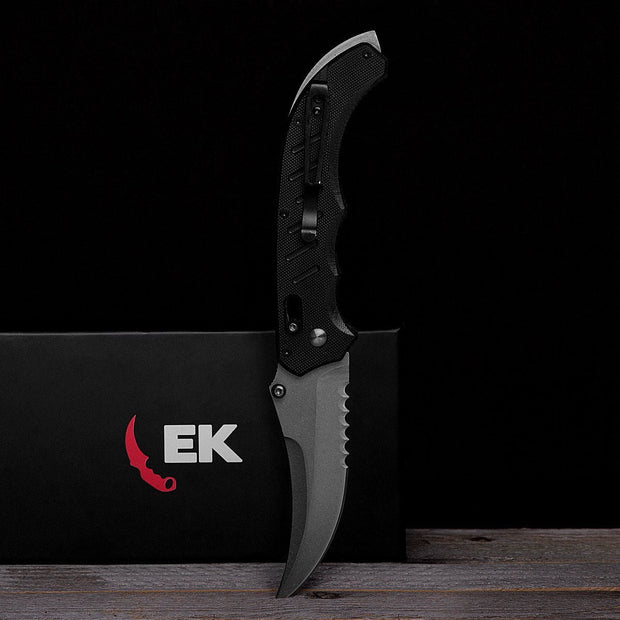 Vanilla Flip Knife-Real Video Game Knife Skins-Elemental Knives