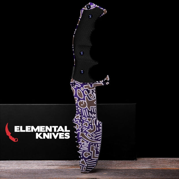 Freehand Huntsman Knife-Real Video Game Knife Skins-Elemental Knives