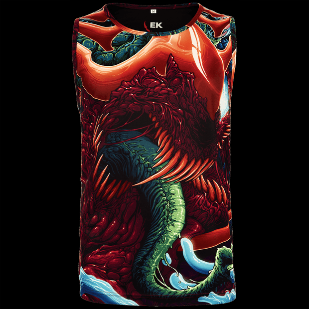 Hyper Beast© Tank Top-Real Video Game Knife Skins-Elemental Knives