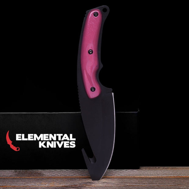 Ultraviolet Gut Knife-Real Video Game Knife Skins-Elemental Knives