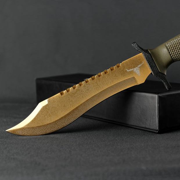 Lore Bowie Knife-Real Video Game Knife Skins-Elemental Knives