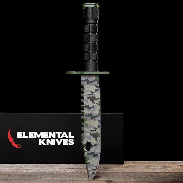 Boreal Forest M9 Bayonet-Real Video Game Knife Skins-Elemental Knives