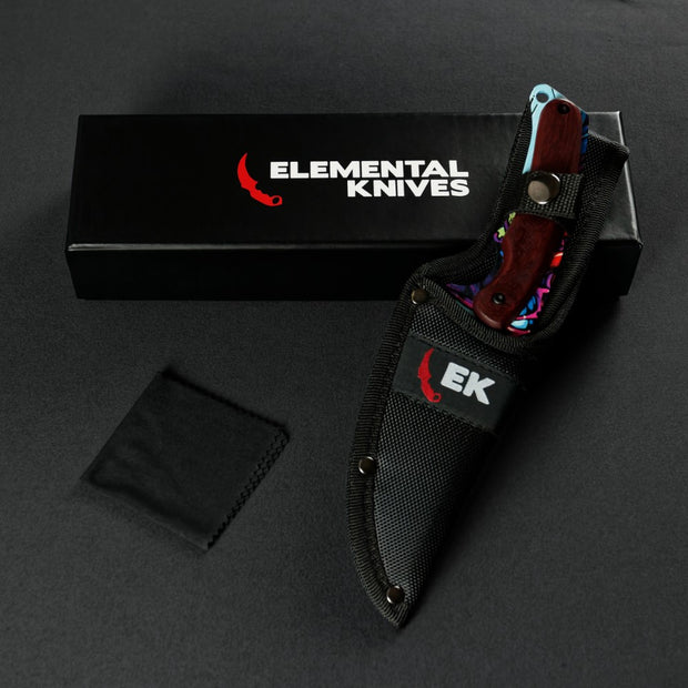 Randomized Hyper Beast© Gut Knife-Real Video Game Knife Skins-Elemental Knives