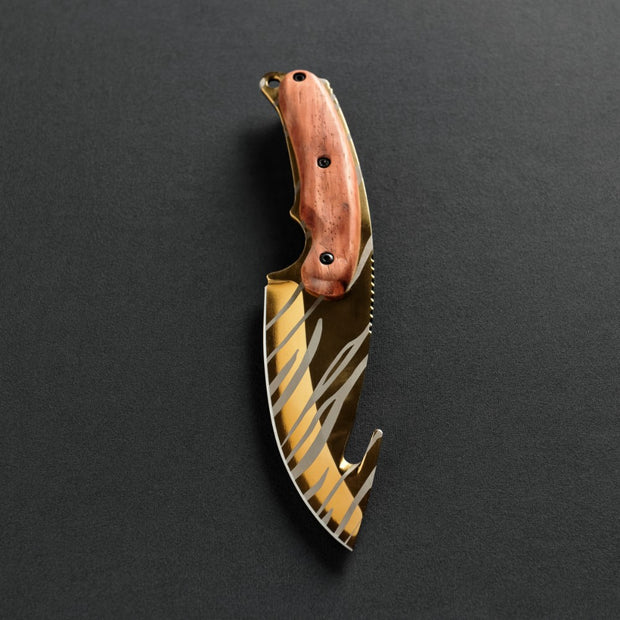 Tiger Tooth Gut Knife-Real Video Game Knife Skins-Elemental Knives