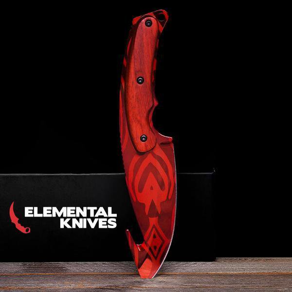 Slaughter Gut Knife-Real Video Game Knife Skins-Elemental Knives