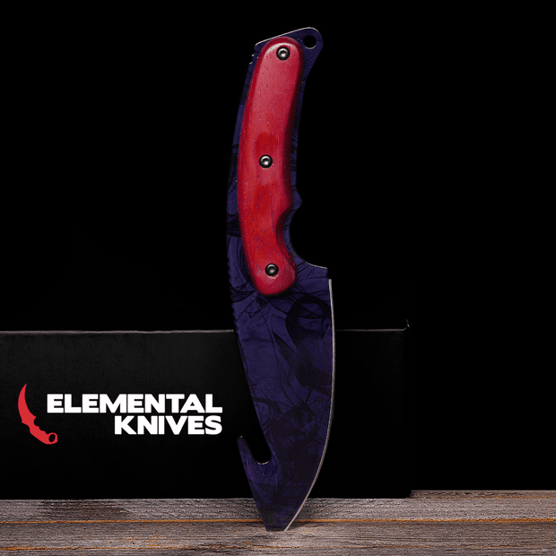 Black Pearl Gut Knife-Real Video Game Knife Skins-Elemental Knives