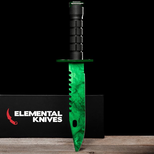 Emerald M9 Bayonet-Real Video Game Knife Skins-Elemental Knives
