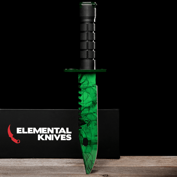 Gamma Phase 2 M9 Bayonet-Real Video Game Knife Skins-Elemental Knives