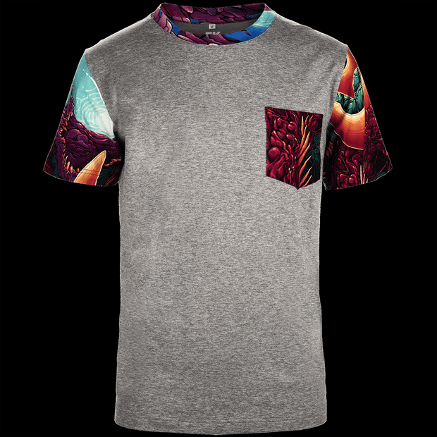 Hyper Beast© T-Shirt (Light)-Real Video Game Knife Skins-Elemental Knives
