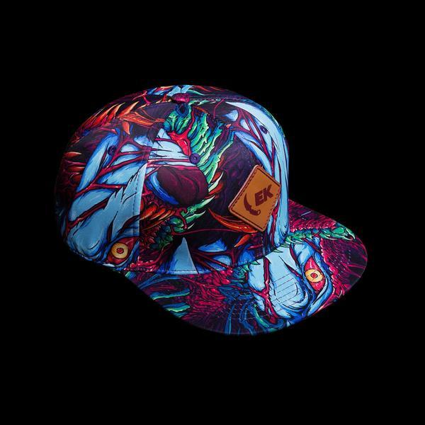 Hyper Beast© Snapback-Real Video Game Knife Skins-Elemental Knives