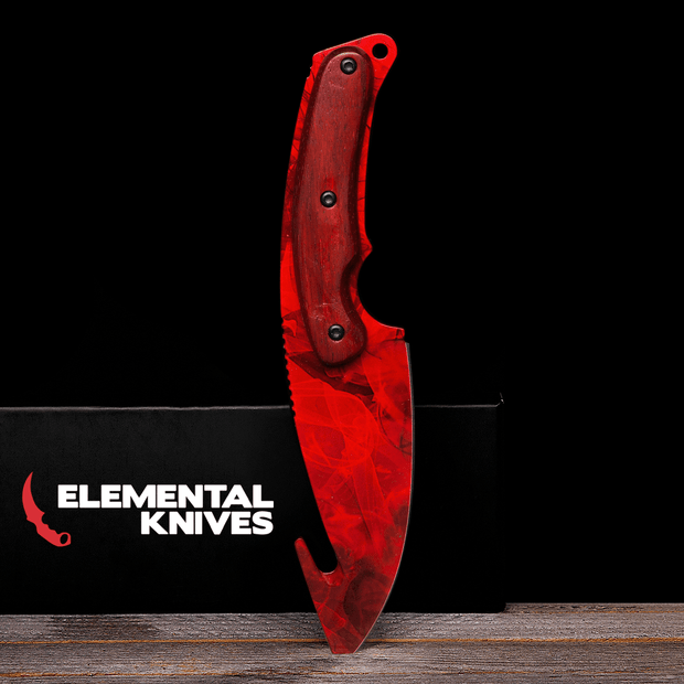 Ruby Gut Knife-Real Video Game Knife Skins-Elemental Knives