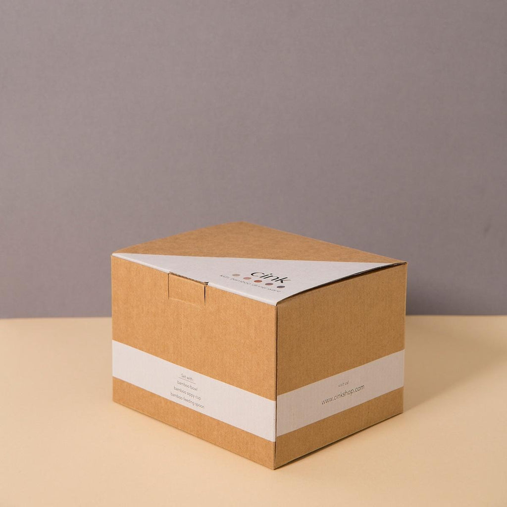Bamboo Baby Giftbox - rye <br>Cink
