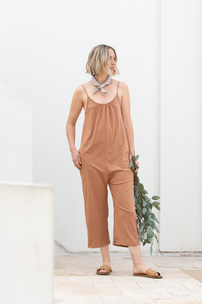 Womens Jersey Jumpsuit