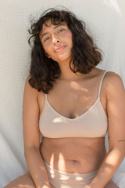 Organic Cotton Bralette