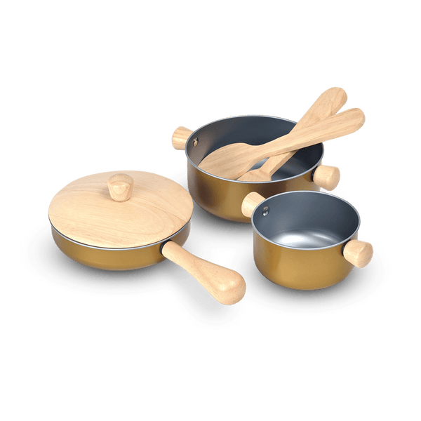Cooking Utensils Set<br> PlanToys