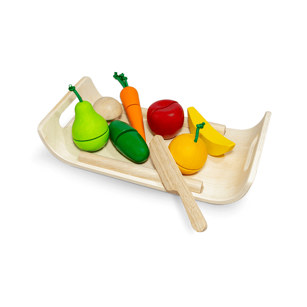 Assorted Fruit & Vegetable<br> Plan Toys