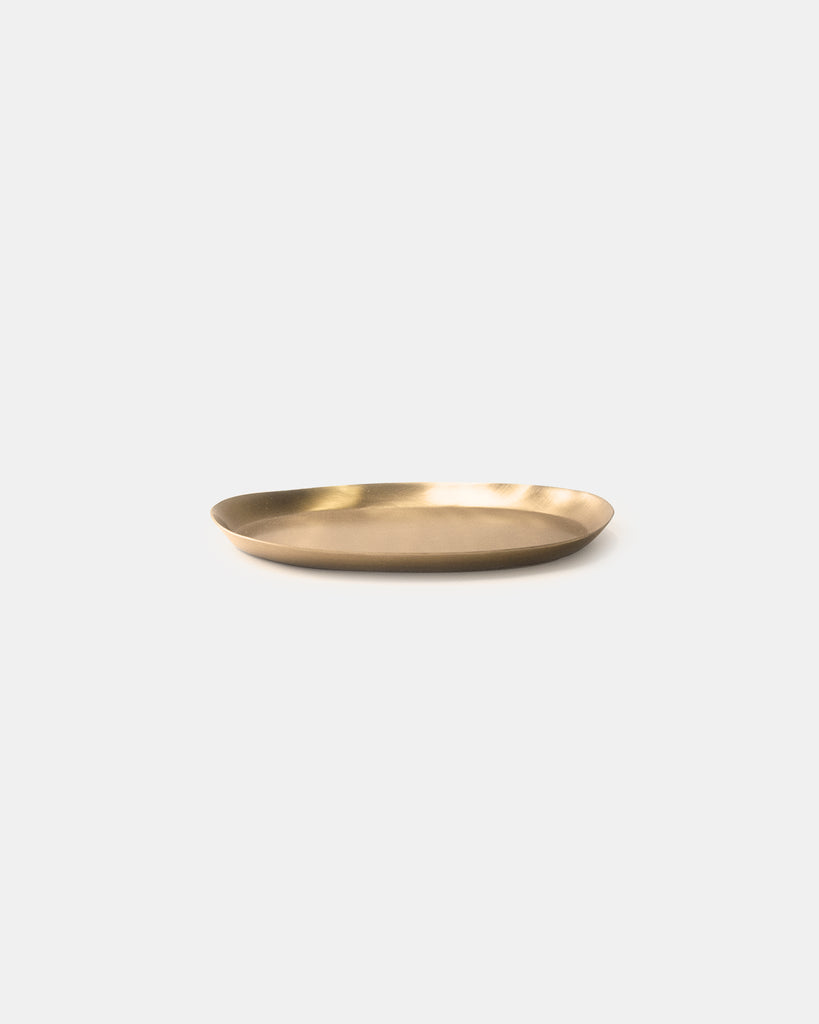Brass oval tray - Small <br>Fog Linen