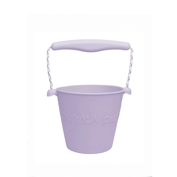 Silicone Beach Bucket - lilac