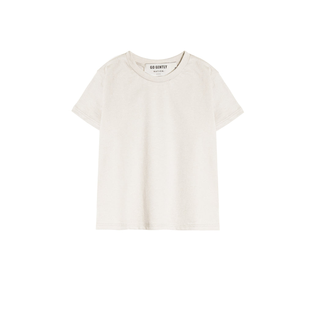 Soft White Basic Tee