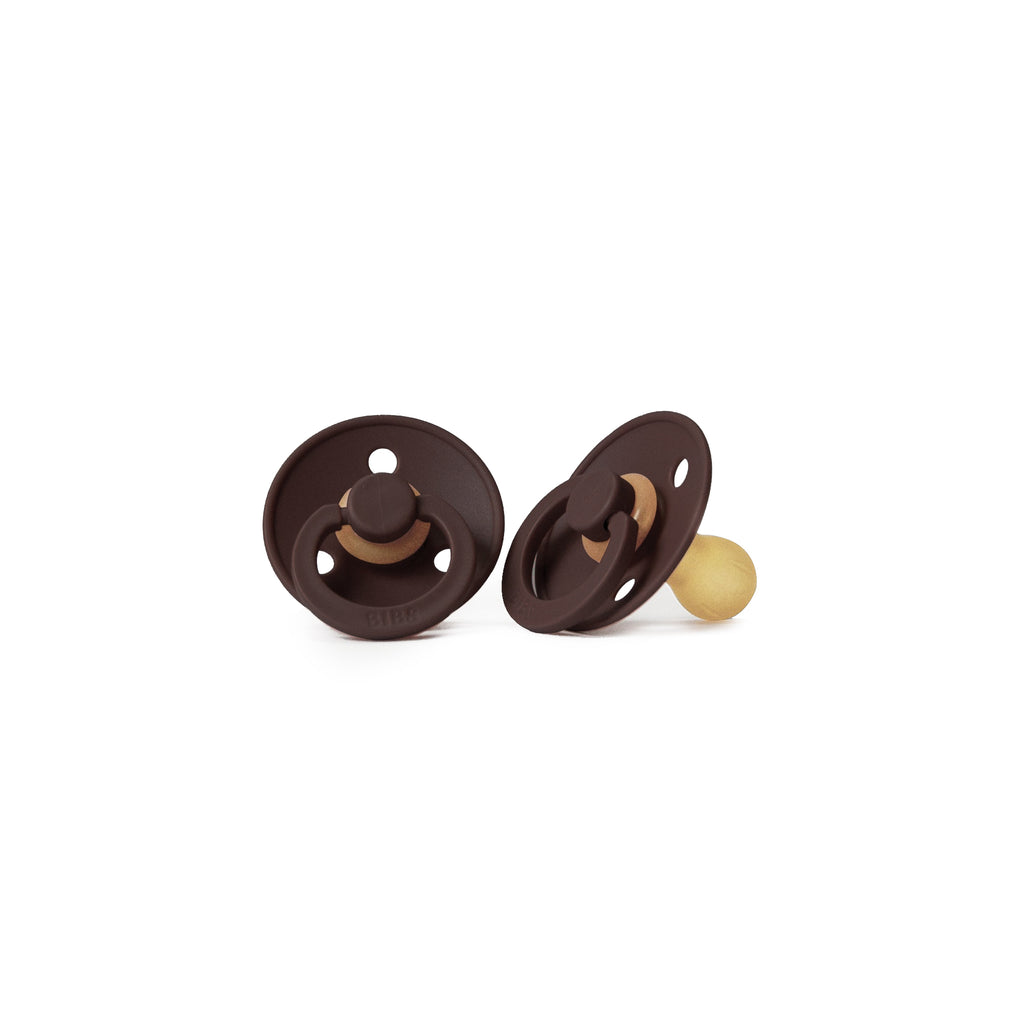 Pacifier in Chocolate <br> Bibs