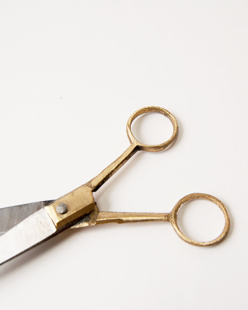 Brass Handle Scissor <br>Fog Linen