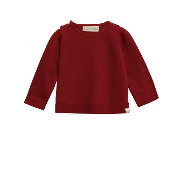 Shoulder Button Sweatshirt