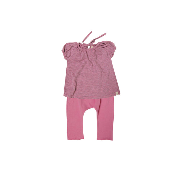 cap sleeve girls baby set