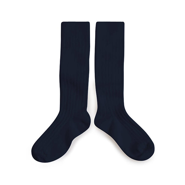Collegien Knee Socks - navy