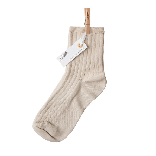 Collegien Ankle Socks - cream