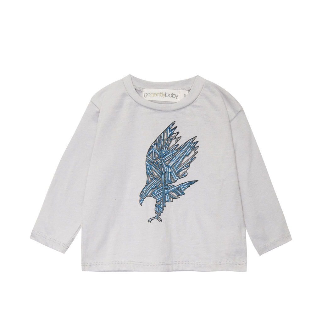 Eagle screen long sleeve tee