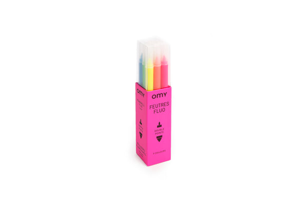 9 Neon Markers<br> OMY