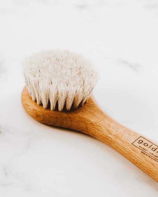 Wooden Face Brush