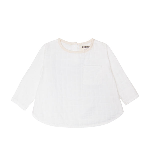 Gauze Pocket Top
