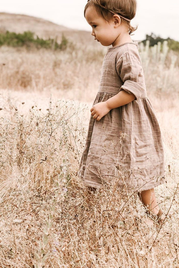 Gauze Prairie Dress