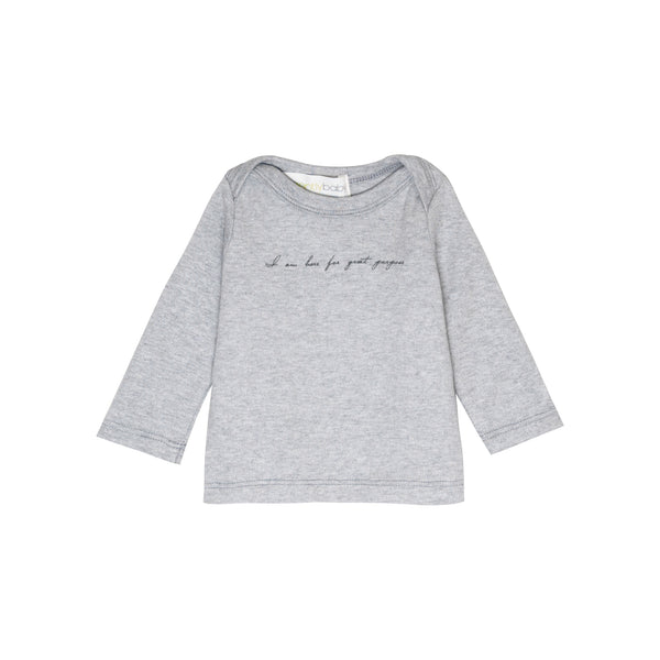 """I am here for great purpose"" lap tee"