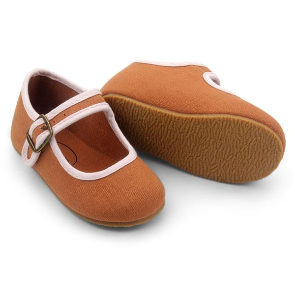 Rust Mary Janes by SMALL LOT