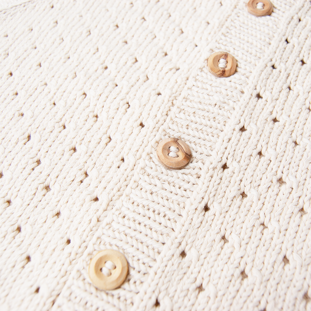 Heirloom Handmade Organic Cardigan - Linde