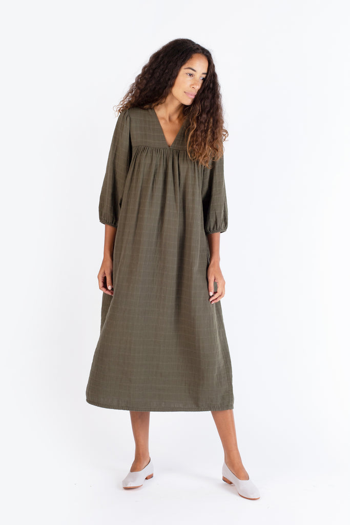 Long Sleeve Gauze Frock