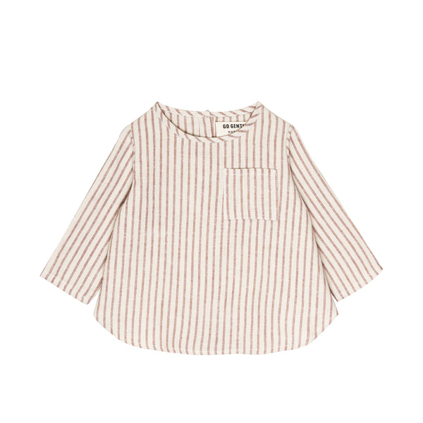 Long Sleeve Placket Top